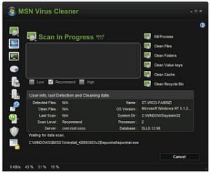 Cómo eliminar virus de MSN